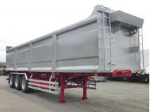 スクラップ運搬用セミトレーラー 高橋ボデー HARDOX® 43㎥ 未登録予備検査付