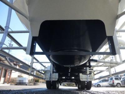 粉粒体運搬セミトレーラー 極東バラセメント 22立米